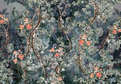 Фотообои «Розовый сад»