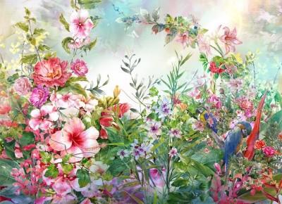 Фотообои «Цветущая поляна»
