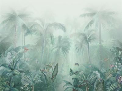 3D Фотообои «Тропический туман»