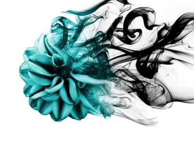 3D Фотообои «Бирюзовая туманность»