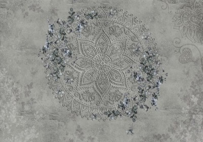 3D Фотообои «Изысканная мандала»