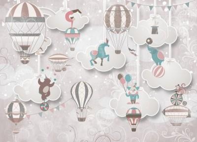 Фотообои «Воздушный цирк»