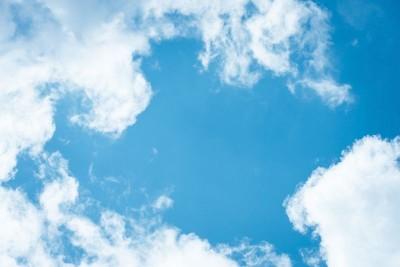 3D Фотообои «Небо в летний полдень»