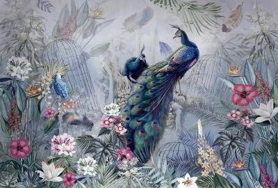 Фотообои «Павлиний сад»