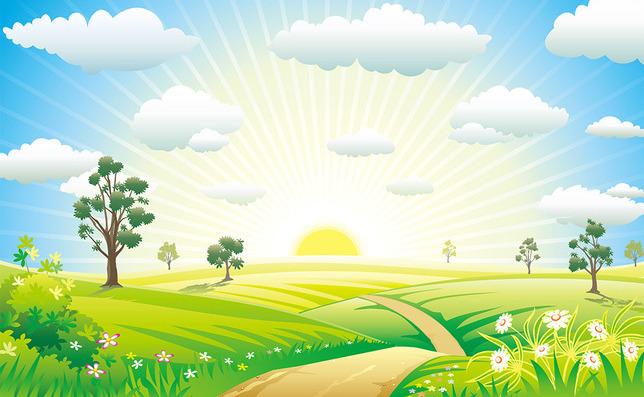 Солнечный рассвет