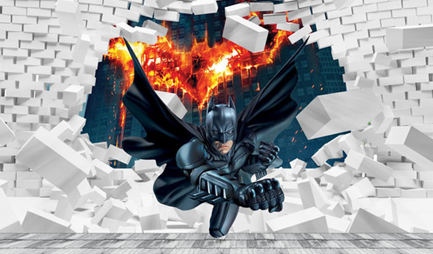 """3D Фотообои  """"Бэтмен"""""""