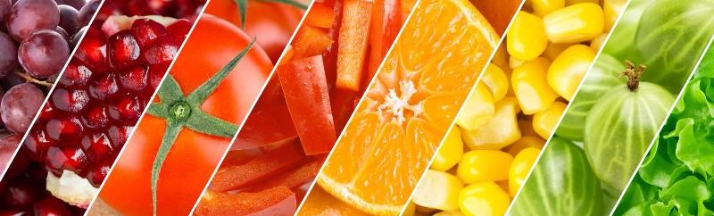 3D Фотообои «Стильная композиция из фруктов и овощей»<br>kit: None; gender: None;