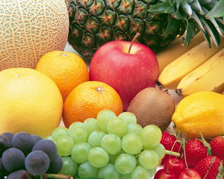 """3D Фотообои  """"Композиция из фруктов"""""""