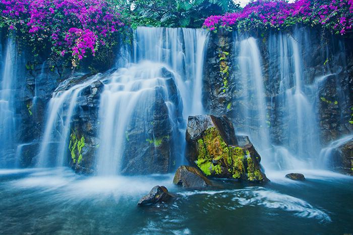 3D фотообои 3D Фотообои  «Горный водопад»  вид 1