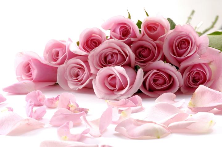 """3D Фотообои  """"Чайные розы"""""""