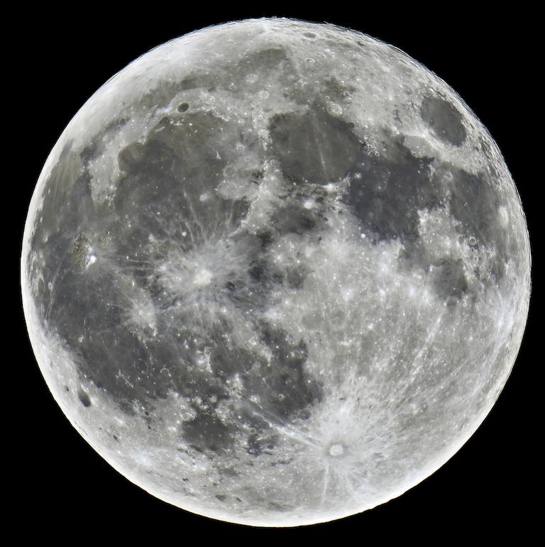 "3D Фотообои  ""Луна"""