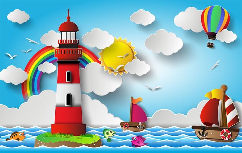 Детские 3D Фотообои Морская тематикаДетские фотообои морской тематики – удачное сочетание яркой, расслабляющей, природной палитры. Полотна универсальны для обустройства игровой, спальной, учебной зоны. Отличительная особенность декора – развитие фантазии, творческих способностей ребёнка. Колоритное изображение способно вписаться в любое цветовое решение интерьера, безупречно подчёркивая выбранный стиль.<br>kit: None; gender: None;