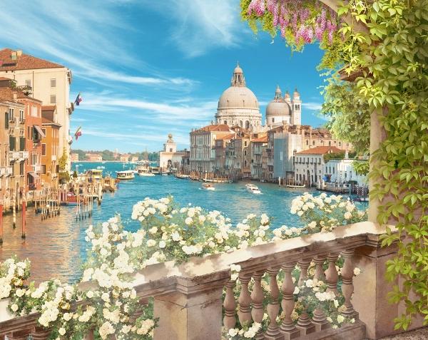 3D Фотообои «Вид на Венецианскую базилику»<br>kit: None; gender: None;