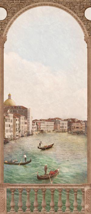 3D Фотообои «Венецианский канал 2»<br>kit: None; gender: None;