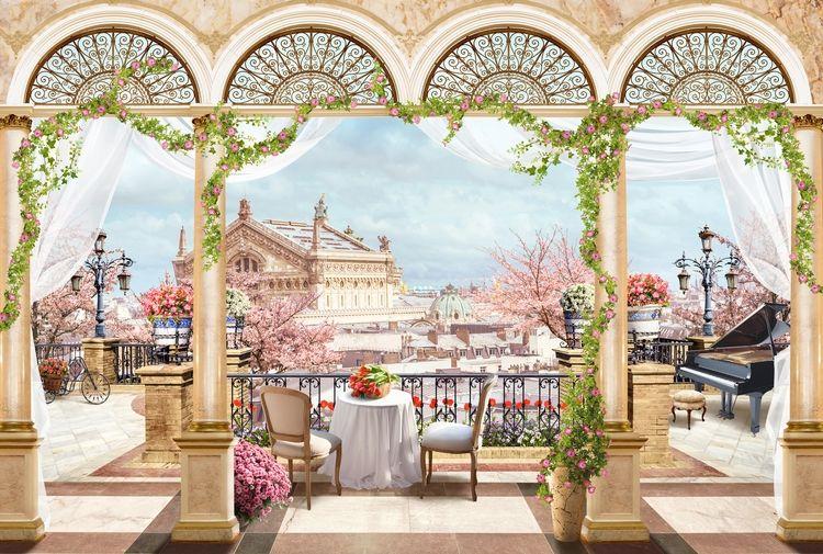 3D фотообои 3D Фотообои «Королевская терраса» вид 1