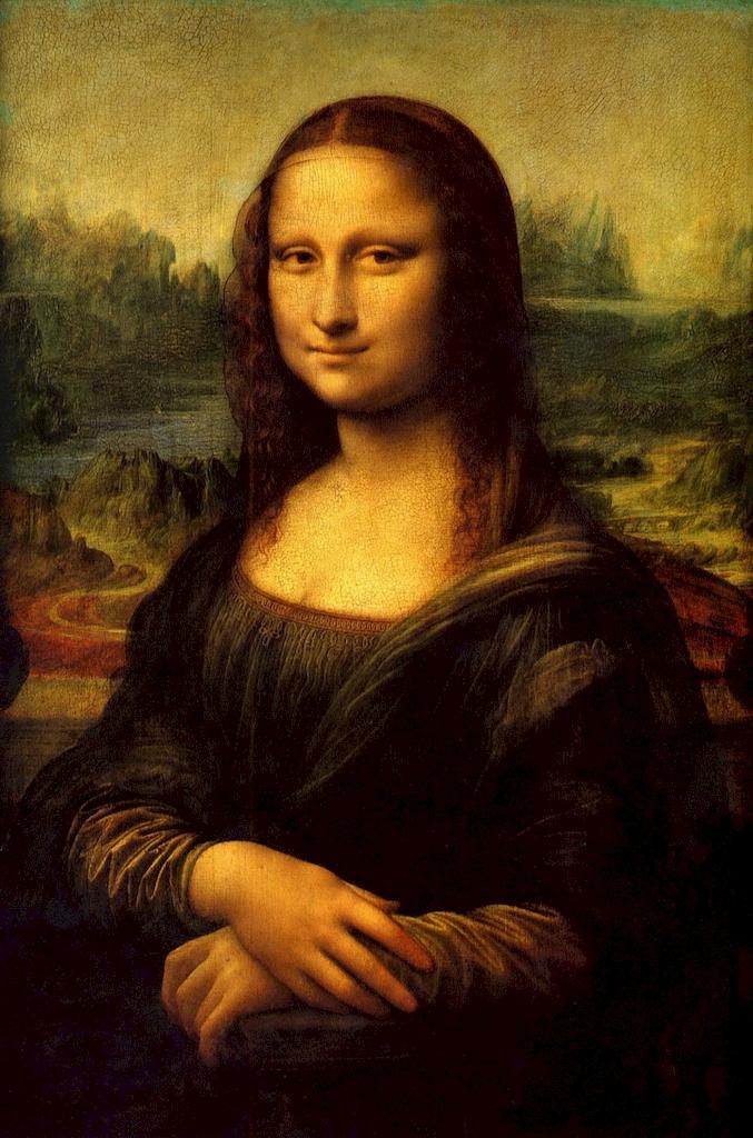 """3D Фотообои  """"Джоконда Леонардо да Винчи"""""""