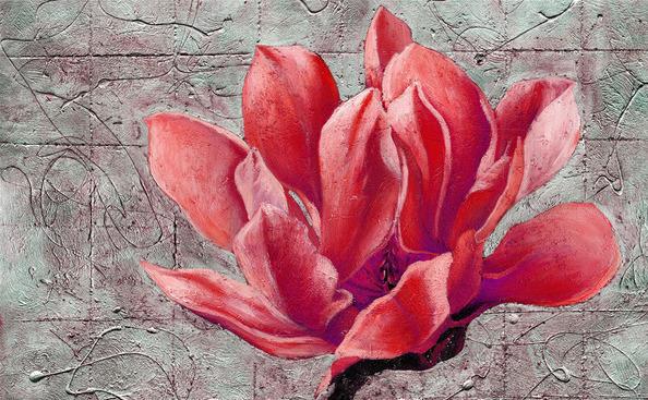 3D Фотообои Красный цветок: настенная росписьЕсли вы хотите чтобы ваша комната заиграла новыми красками; ищите что-то новое, эксклюзивное - значит вам, необходимы, именно эти 3д Фотообои Красный цветок с чудесной расписной фактурой.<br><br>Цветовая гамма подобрана с невероятной точностью, что придает особый шик и шарм этому изображению.<br>kit: None; gender: None;