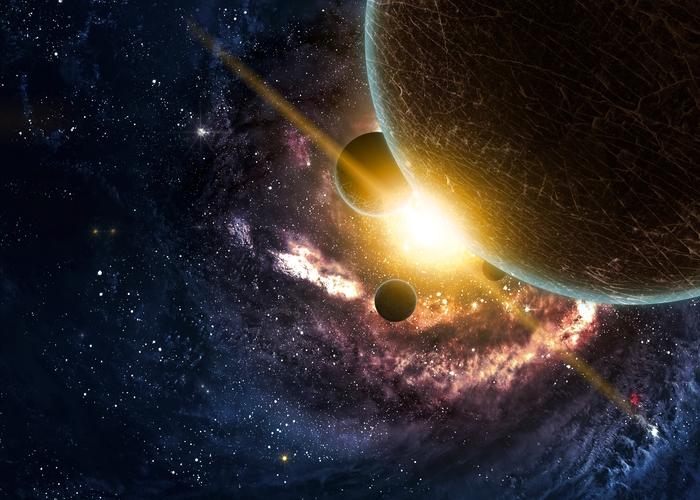 3D Фотообои «Новая галактика»<br>kit: None; gender: None;