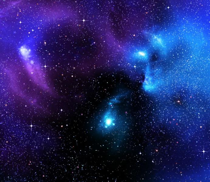 """3D Фотообои  """"Звездное небо"""""""