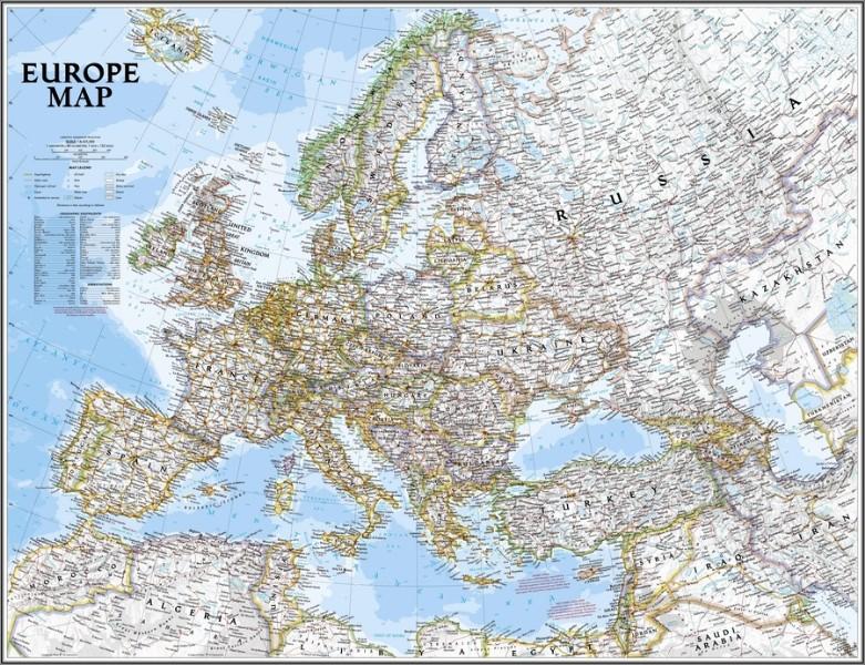 """""""Карта Европы"""""""