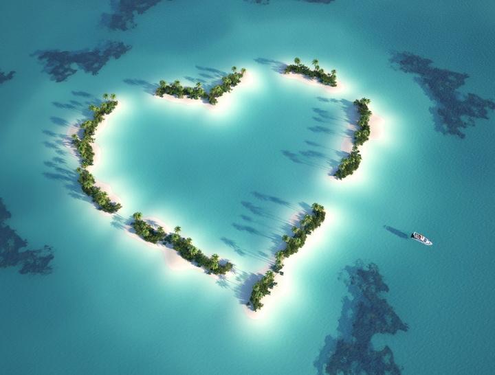 """Фотообои """"""""Остров любви Мальдивы"""""""""""