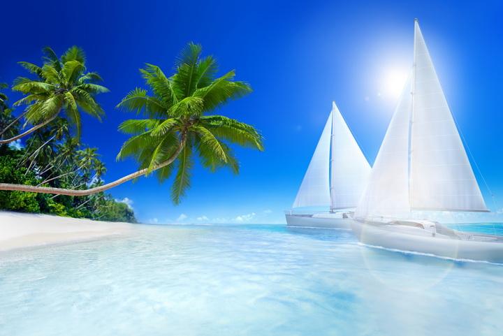 обои для рабочего стола лето море солнце № 383631 бесплатно