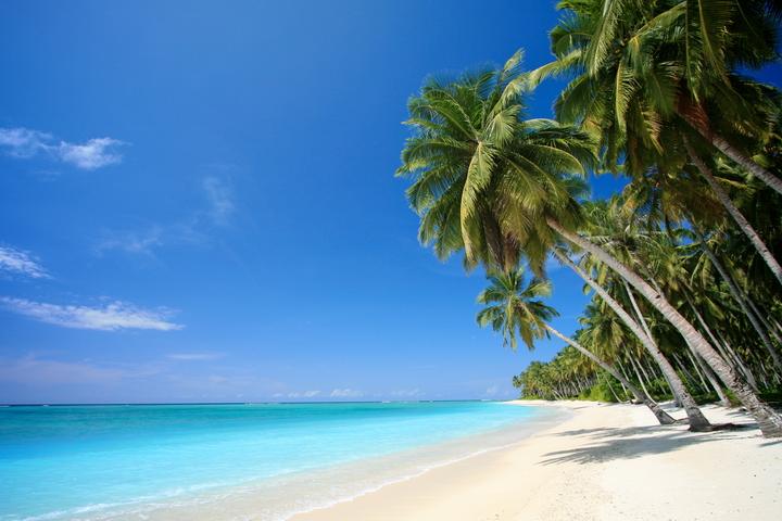 """3D Фотообои  """"Мальдивы"""""""