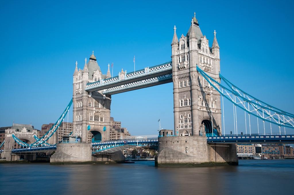 """3D Фотообои  """"Лондонский мост"""""""