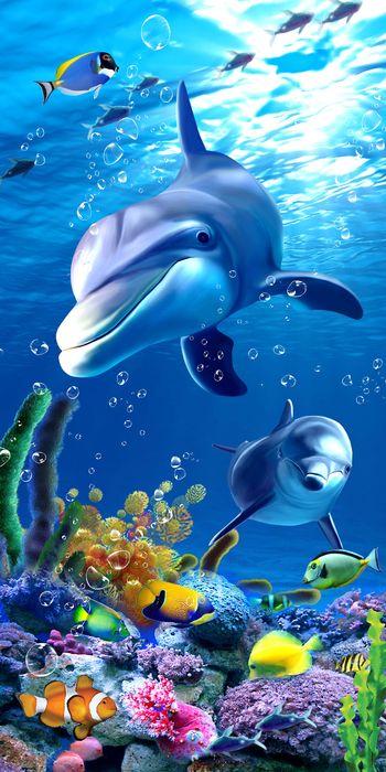 """Фотообои """"3D Фотообои «Океан»"""""""