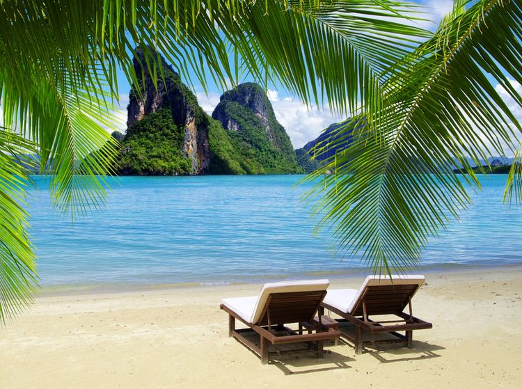 3D Фотообои  Солнечный пляж ТаиландФотообои «Солнечный пляж Таиланд» - обстановка в доме должна быть такой, чтобы «глаз радовала», а душевное и физическое состояние находились в гармонии и спокойствии. Для этого необходимо создать полностью продуманный, исключительный, отличающийся своей индивидуальностью стиль.<br><br>Мы хотим предложить один из вариантов нашей идеи, который надеемся, придется Вам по вкусу! Тропический остров, солнце, пляж, ветвистые пальмы с шикарными стеблями и листьями идеально представляются в воображении любого человека красочной фантазией, погружают в мир грез и создают ощущение удивительного времяпровождения в подобном райском уголке прямо сейчас.<br><br>Невероятный восторг, приятные воспоминания или мечты о долгожданной поездке. Окунитесь в мир красот в окружении изумительной природы, под палящим жарким солнцем с изображением пляжа на стену!<br>kit: None; gender: None;