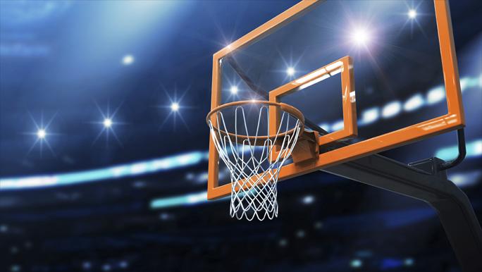 """3D Фотообои  """"Баскетбол"""""""