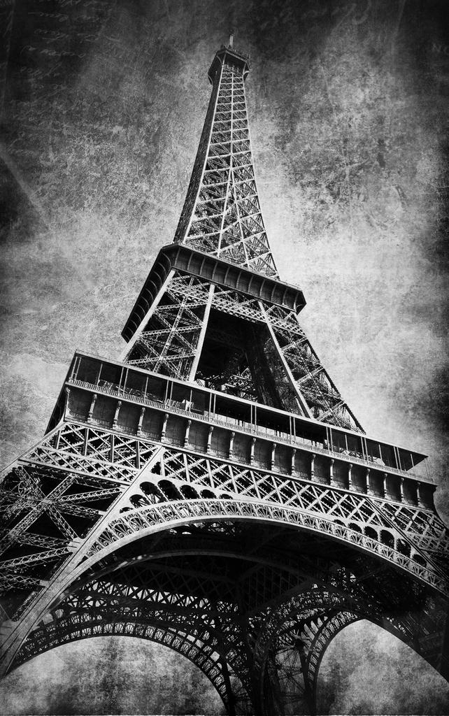 3D Фотообои  Париж черно-белыеПариж увлекательный, прекрасный город. Здесь очень необычные, красивые улочки и арки, интересное проектирование домов, много разнообразных чудесных достопримечательностей и, пожалуй, основная, самая необыкновенная из них - Эйфелева башня.<br><br>3д Фотообои, выполненные в черно белых тонах, будут отлично сочетаться с современными элементами декора и Вашими интересными интерьерными решениями. Эти 3D фотообои подарят эксклюзивную атмосферу одного из лучших уголков на свете!<br>kit: None; gender: None;