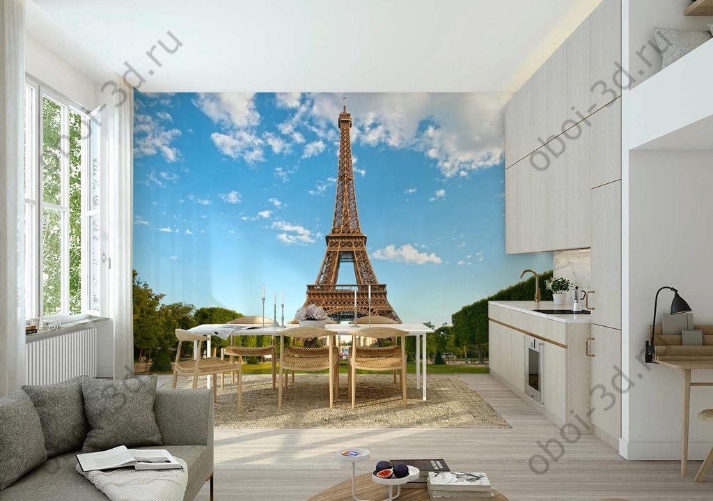 Эйфелева башня обои на стену