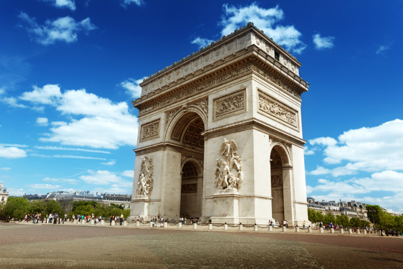 "3D Фотообои  ""Триумфальная арка"""