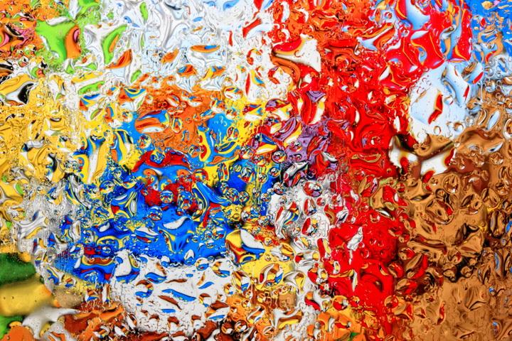 """3D Фотообои  """"Цветной витраж"""""""