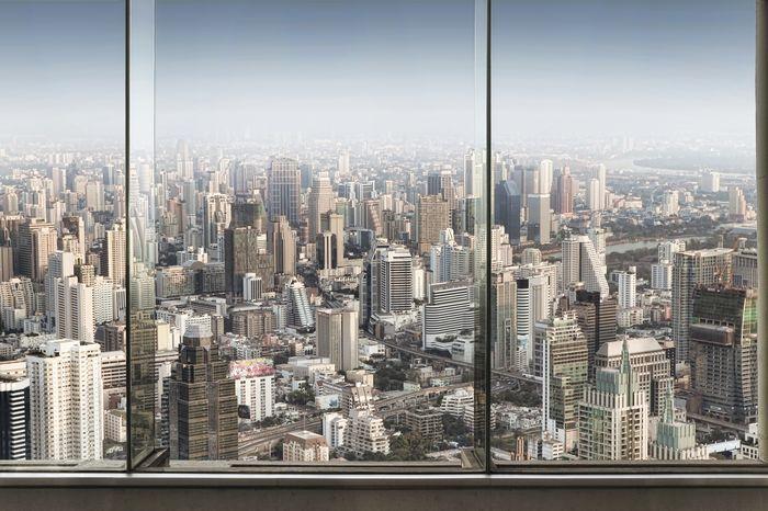 3D Фотообои «Современный мегаполис»