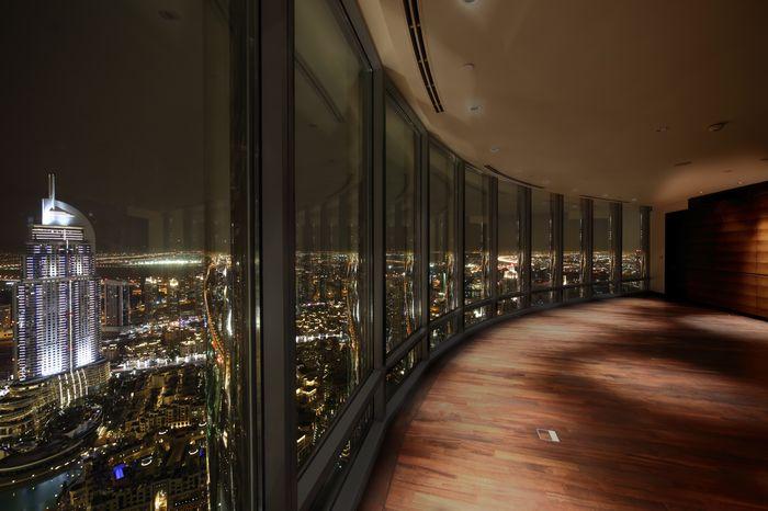 """Фотообои """"3D Фотообои «Панорамное окно небоскреба»"""""""