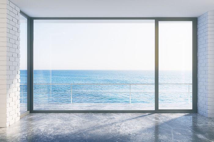 3D Фотообои «Окно-терраса»