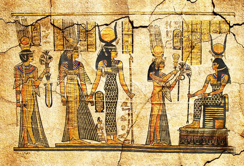 """3D Фотообои  """"В Египетском стиле"""""""