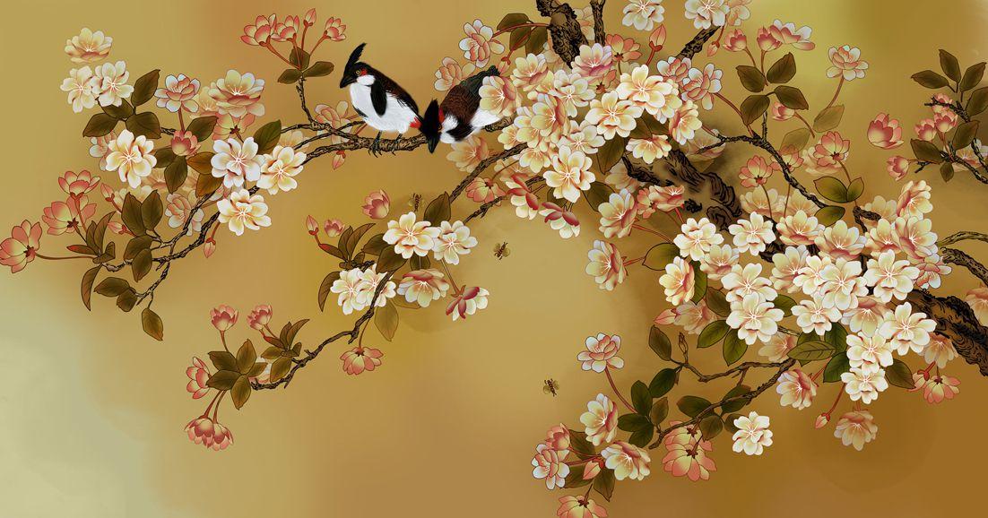 """3D Фотообои  """"Японский сад"""""""