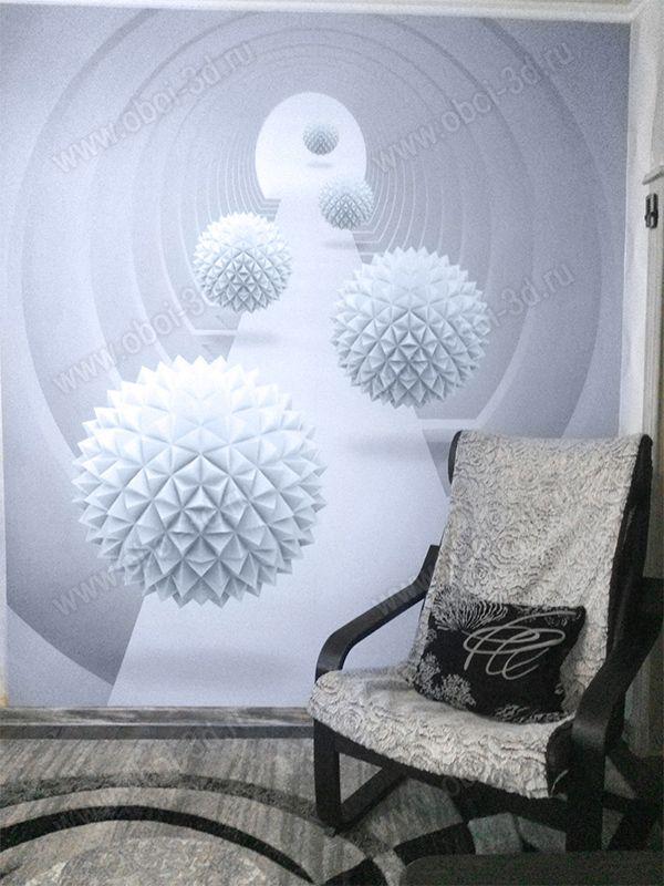 3D Фотообои «Абстрактный тоннель»